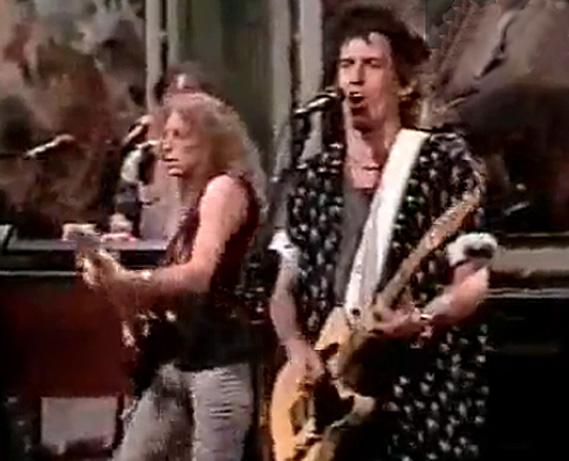 Waddy Wachtel, Keith Richards Saturday Night Live 1988