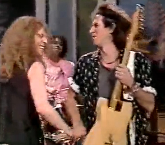 Waddy Wachtel, Charley Drayton, Keith Richards Saturday Night Live 1988