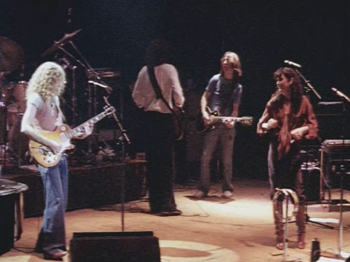 Waddy Wachtel, Kenny Edwards, Dan Dugmore, Linda Ronstadt - Tour 1978