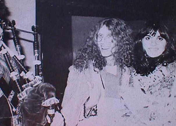 Waddy Wachtel, Linda Ronstadt 1976 Hasten Down the Wind Tour 11/10/76 Glasgow