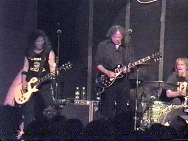 Waddy Wachtel, Neil Young, Phil Jones 5/16/05