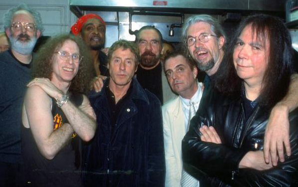 Jack Tempchin, Waddy Wachtel, Bernard Fowler, Roger Daltrey, Paul Mitchell, Terry Reid, Phil Jones, Rick Rosas