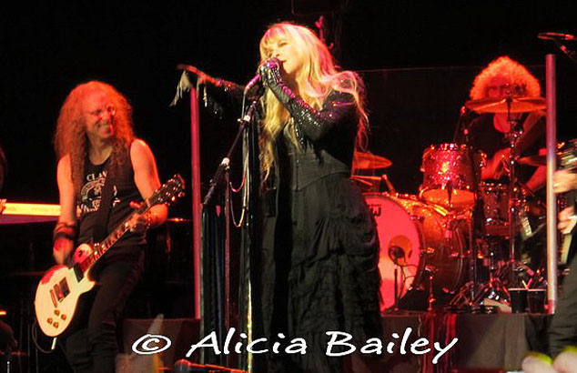 Waddy Wachtel, Stevie Nicks, Jimmy Paxson - Wiltern Theater 5/26/11 (Photo by Alicia Bailey)