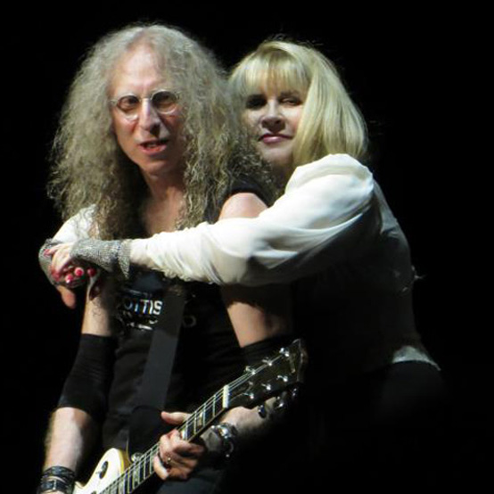 Waddy Wachtel, Stevie Nicks 7/6/12 (photo by Amy Veit Green)