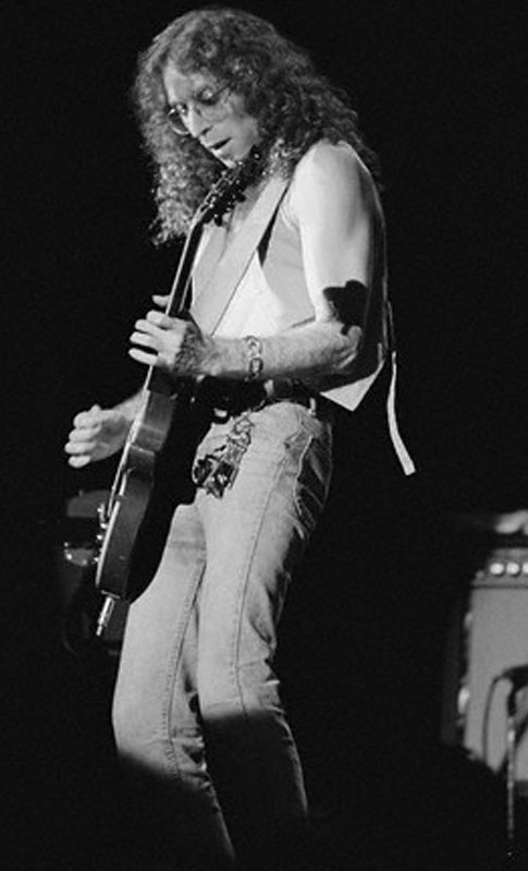 Waddy Wachtel 1981 Stevie Nicks Tour (Photo by Neal Preston)