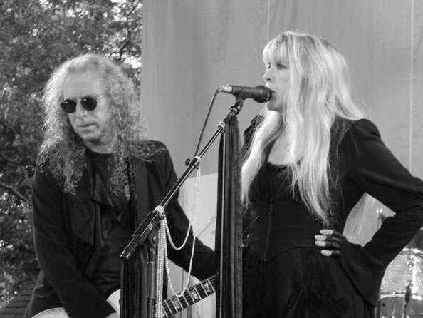 Waddy Wachtel, Stevie Nicks (Photo by Mike Pierro)