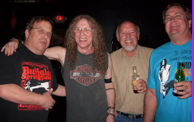 Swifty, Waddy, Gene, Lance at The Joint 1/7/12