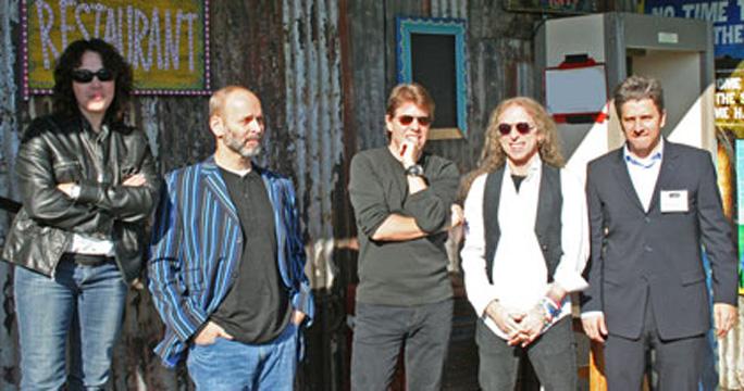 Claudia Brant, Wayne Kramer, George Thorogood, Waddy Wachtel 2007