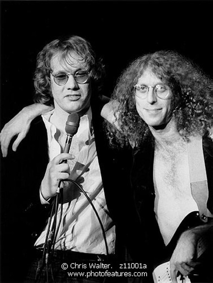 Warren Zevon, Waddy Wachtel 1978 (Photo by Chris Walter)